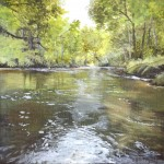 Woodland Creek Painting