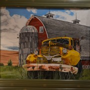 FarmTruckFramed